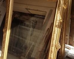 miroir 19ème doré