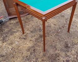 Table à jeu art déco
