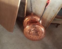 Bassinoire en cuivre début 19ème