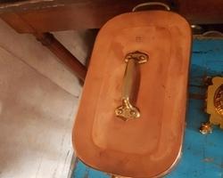 Daubière 18ème en cuivre