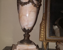 Garniture de cheminée Napoléon III