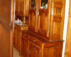Buffet alsacien louis XIV en noyer