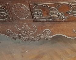19th century Lorraine cabinet in Mirecourt oak