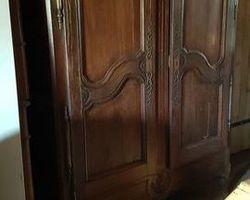 Lorraine cabinet (Vosges) 19th in oak