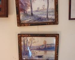 2 Aquarelles de Jacques DEBUT