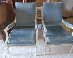 paire de fauteuil Louis XVI