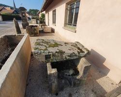Pierre à laver en grès des Vosges 19ème