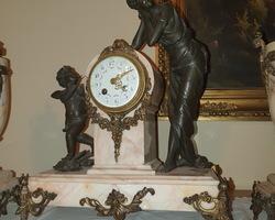 pendule dite garniture de cheminée Napoléon III