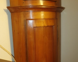 19th century cherry wood floor clock 1820/1850