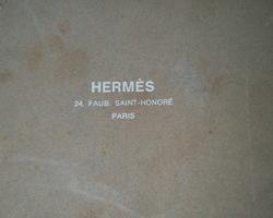 HERMES desk clock in bronze from the 70s