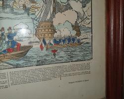 Image d'Epinal du Bombardement de Sebastopol