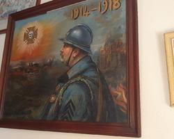 2 huiles sur panneaux de E.V. CARDINAL représentant H. RAILLARD