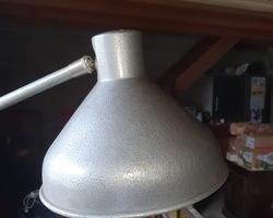 Lampe d'usine à 3 bras des années 70