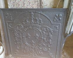 Plaque de cheminée en fonte 18ème
