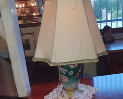 Large table lamp from the 20s  bronze feet