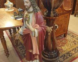 Statue du Christ fin 19ème