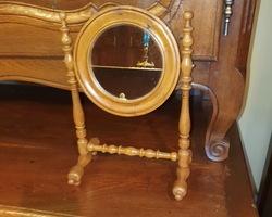 Lady's vanity mirror  19th century