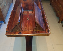 Music system table Napoleon III period in rosewood