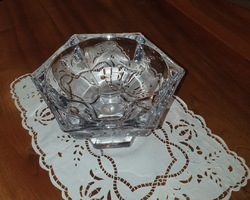 20s crystal fruit bowl