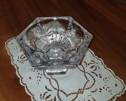 20s crystal fruit bowl
