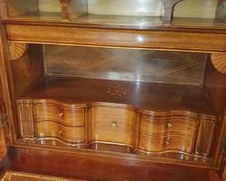 secretary Louis Philippe in mahogany