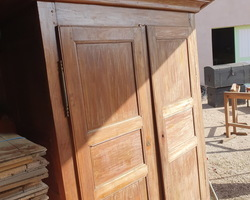 Small cherry wood cabinet from the 19th of Val d'Ajol