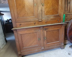 Oak sideboard 4 doors 2 drawers restoration period