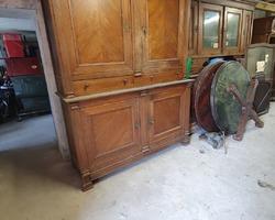 Oak sideboard 4 doors 2 drawers restoration period