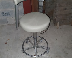 COBURG swivel dentist chair  from the 60s / 70s  in a perfect state
