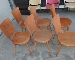 6 Chaises BAUMANN modèle DOVE