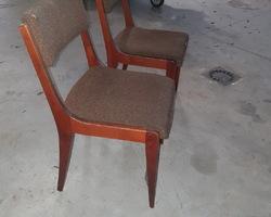 2 chaises scandinave des années 60/70