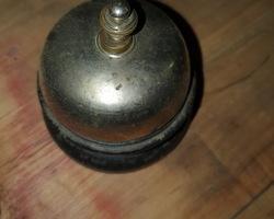 sonnette de comptoir d'hôtel 1920