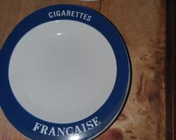 lot de cendriers cigarettes françaises 1950