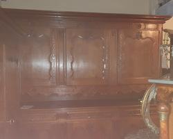 Monumental buffet lorrain 6 portes et 3 tiroirs en chêne