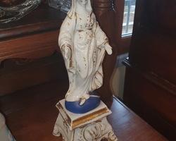 Vierge en porcelaine 19ème