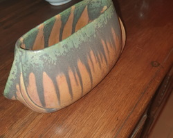 Stoneware planter from the 30s / 50s