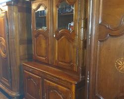 Alsatian sideboard in walnut early 19th