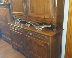 small Lorraine (Vosges) buffet from the 19th century in oak