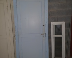 Anciennes portes de passage d'un presbytère