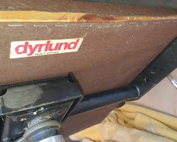 Fauteuil en cuir  de bureau DYRLUND