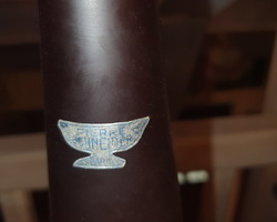Vase en pâte de verre de Pierre SCHNEIDER PARIS