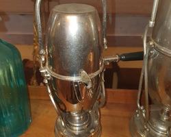 Samovar en métal argenté 1900