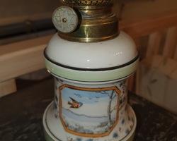 Louis Philippe oil lamp