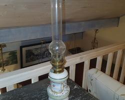 lampe à époque pétrole Louis Philippe