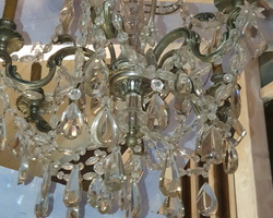 Very large Chandelier cristal  Baccarat