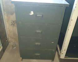 Fir furniture from the 30s in fir  4 drawers