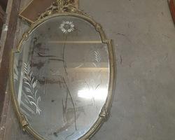 medallion shaped ice   50s