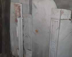 Cheminée en marbre blanc de style Louis XV époque Napoléon III