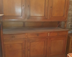 Louis Philippe oak sideboard 6 doors / 3 drawers a central cellar