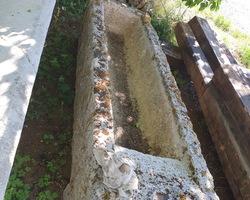 Bassin en calcaire du 18ème